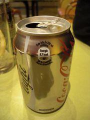 Spanische Coca-Cola Light mit Kalorien