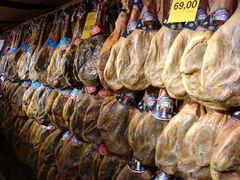Jamón Ibérico im Supermarkt