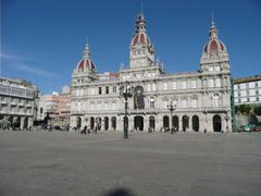 La plaza de Maria Pita (ayuntamiento)