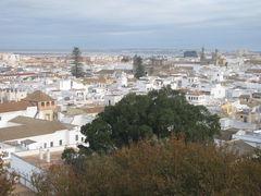 Blick vom Barrio alto, Sanlucar de Barrameda