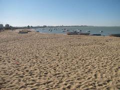 Strand an der Mündung des Guadaquivier