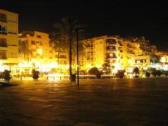 Moraira bei Nacht