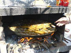 Weitere Miesmuscheln/Mejillones in die Paella