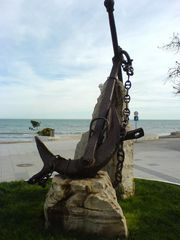 Anker beim Strand