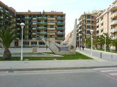 Moderner Brunnen