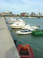 Bote im Hafen