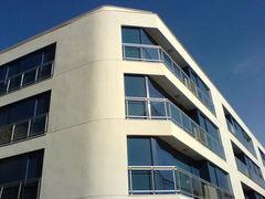Moderne Häuserfassade