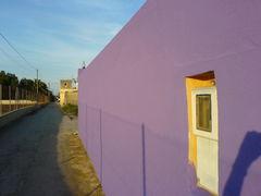 pinke Fassade