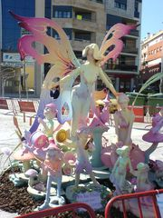 Fallas Figuren in Benicarló