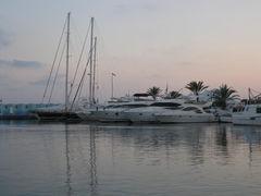 Moraira Hafen