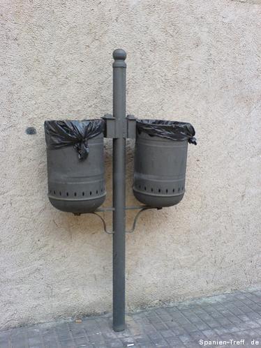 Abfalleimer / Mülleimer in Benicarló
