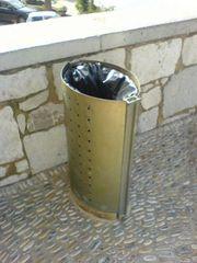 Abfalleimer / Mülleimer in Peñiscola