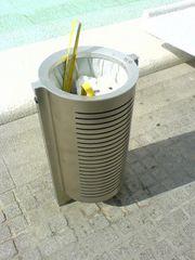 Abfalleimer / Mülleimer in València