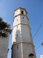 Kirchturm der Kirche Sant Bartomeu von Benicarló