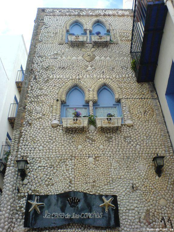 Muschelhaus von Peñíscola