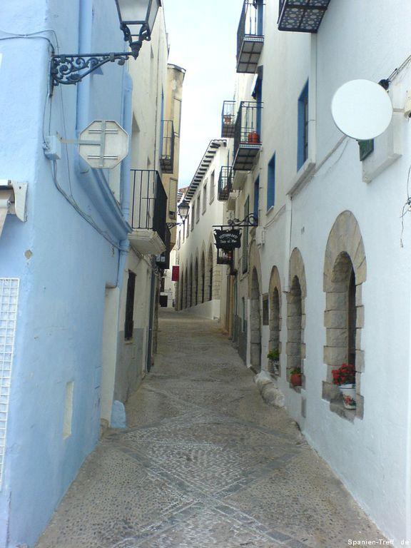 Enge Gasse von Peñíscola