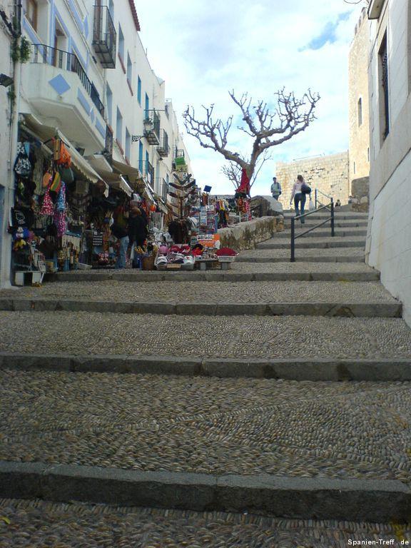 Treppenstraße von Peñíscola