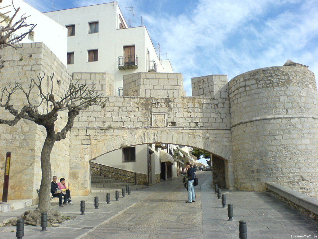 Stadttor von Peñíscola