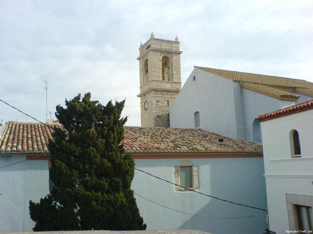 Kirchturm von Peñíscola