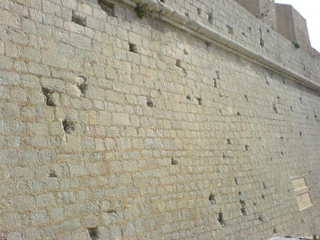 Stadtmauer von Peñíscola