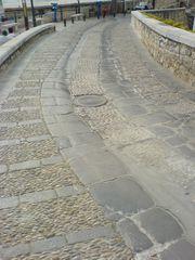Weg und Straße von Peñíscola
