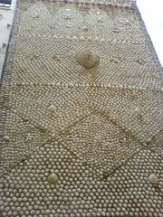 Fassade des Muschelhauses von Peñíscola
