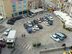 Der Hauptpaltz von Peñíscola
