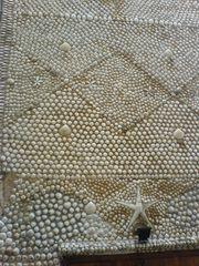 Fasssade des Muschelhauses von Peñíscola