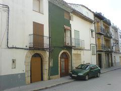 Grün-Weise-Häuserhälften