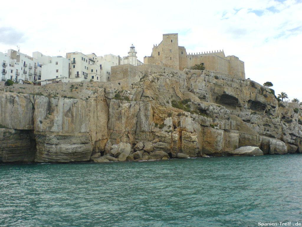 Fels, Burg und Leuchtturm von Peñiscola