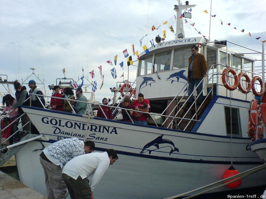 Das Boot Golondrina - Damiana Sanz