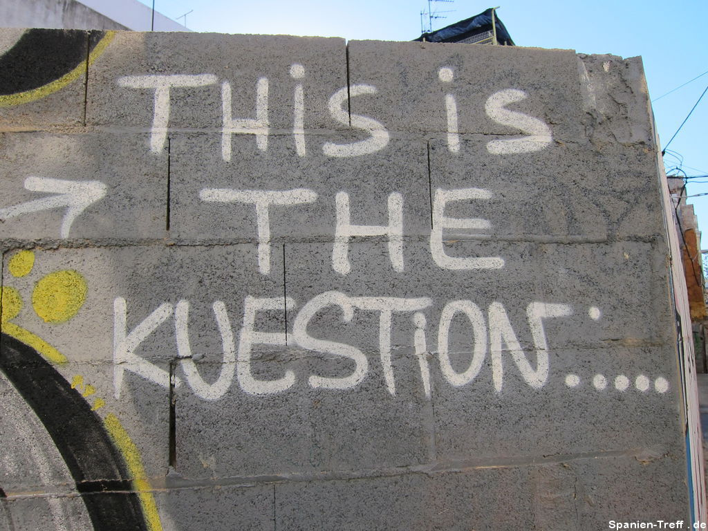 Graffiti: THis is THE KUEASTION