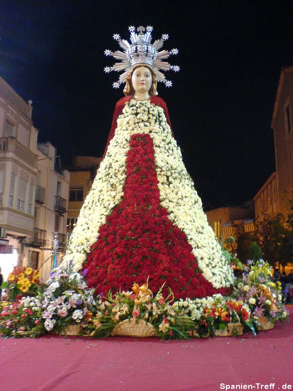 Ofrena de Flors in Benicarló