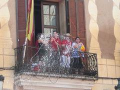 Eröffung der Fiesta mit Wasssertaufe