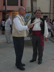 Männer in traditioneller, spanscher Tracht