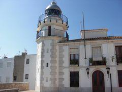 Leuchtturm von Peñíscola