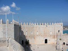 Burg-Innere von Peñíscola.