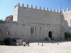 Burg- Innere von Peñíscola