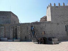 Burg-Innere von Peñíscola