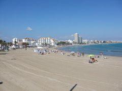 Strand von Peñíscola