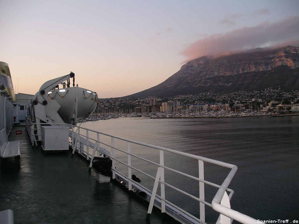 Hafen von Denia