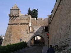 Torbogen der Stadtmauer