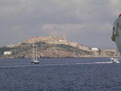 Ibiza in Sicht
