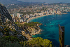 View on Calpe (Spain)