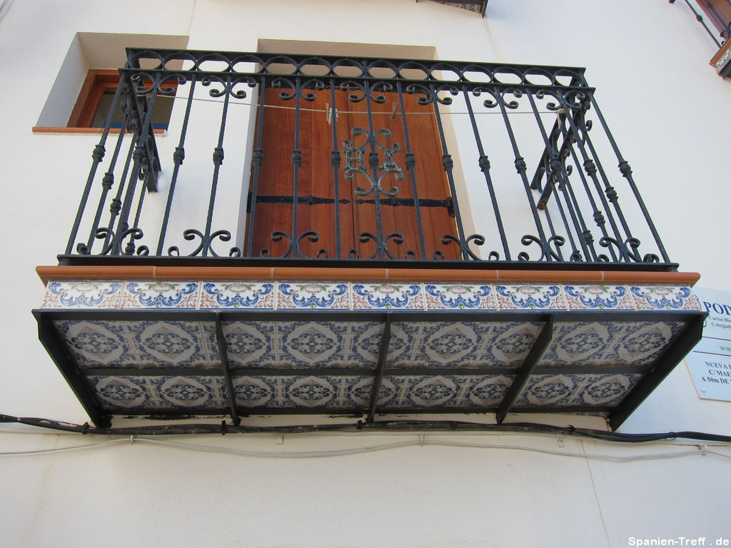 Keramikfliesen am Balkon