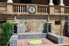 Plaza de espana Kacheln location scout sevilla