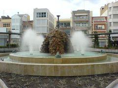 Brunnen Plaza de Sant Antoni