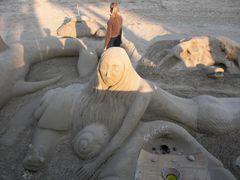 Meerjungfrau und Schnecke