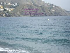 IMG 1611Meer Bildgedicht fotoA Almunecar (Granada) Strand von Velilla