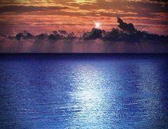 Ich höre in Gedanken das Meeresrauschen bin von tiefer Sehnsucht erfüllt ich sehe mich barfuß am Strand lang laufen im Einklang mit mir und der Welt  Über mir seh ich die Möwen fliegen Wind streichelt sanft meine Haut die Wärme der Sonne wird
